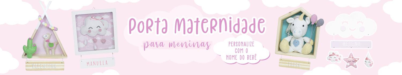 Porta Maternidade - Meninas