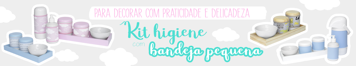 Kit Higiene - Kit com Bandeja Pequena