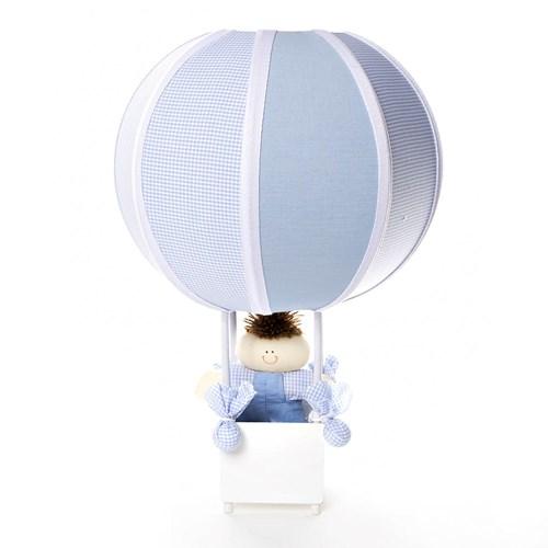 Abajur Balãozinho Azul
