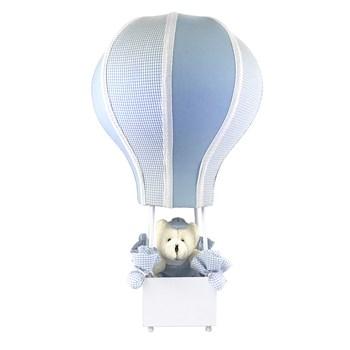 Abajur Balãozinho Cintura Urso Azul