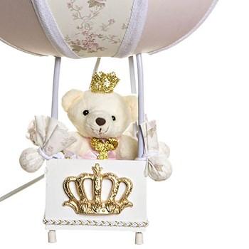 Abajur Balãozinho Ursinha Princesa