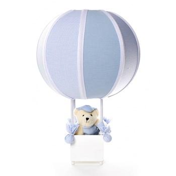 Abajur Balãozinho Urso Azul