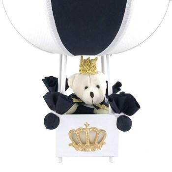 Abajur Balãozinho Urso Príncipe Marinho
