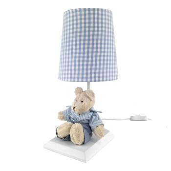 Abajur Toys Claro Urso Azul