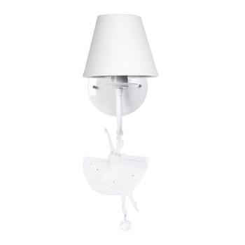 Arandela 1 Lâmpada Bailarina Branca