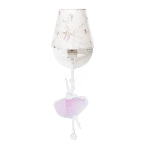 Arandela 1 Lâmpada Bailarina Rosa