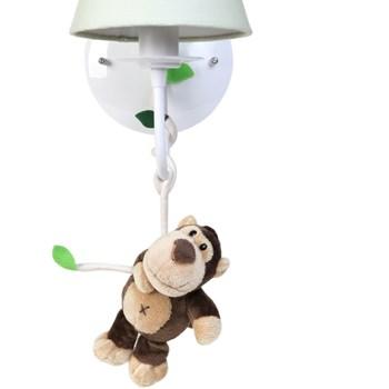 Arandela 1 Lâmpada Floresta Macaco