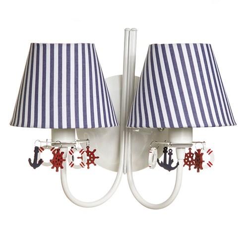 Arandela 2 Lâmpadas Marinheiro