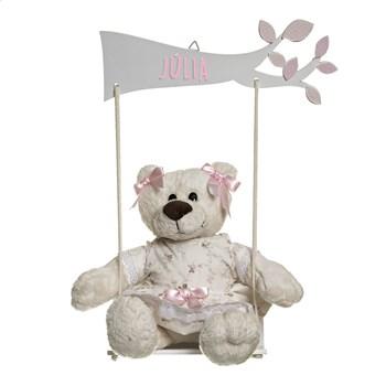 Balança Com Ursa Menina