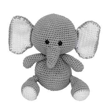 Elefante Guga Amigurumi Crochê