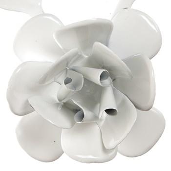 Flor Com Folhas Brancas