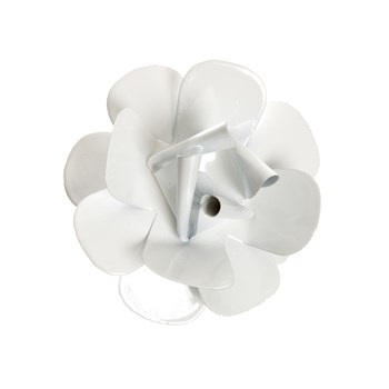 Flor Metal Branca