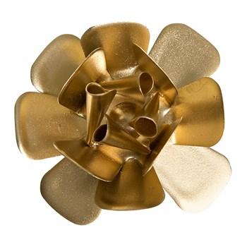 Flor Metal Dourada
