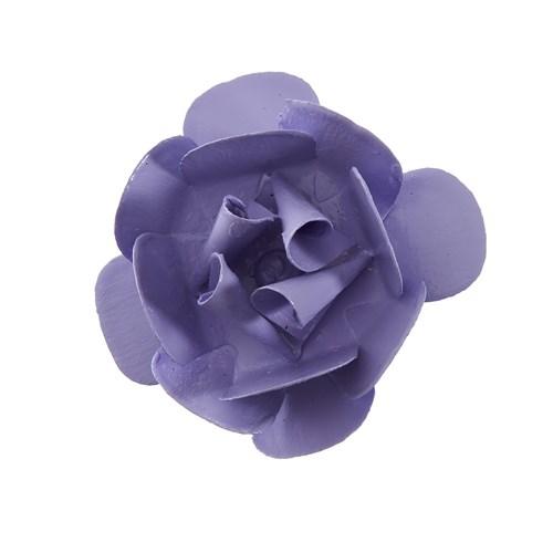 Flor Metal Lilás