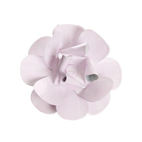 Flor Metal Rosa