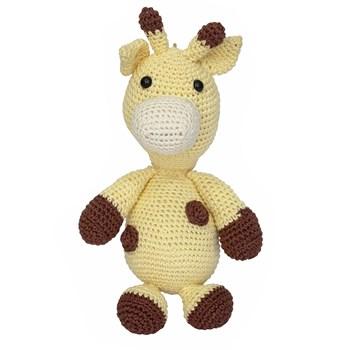 Girafa Mila Amigurumi Crochê