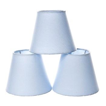 Jogo Cúpulas Para Lustre Azul (3 Unid.)