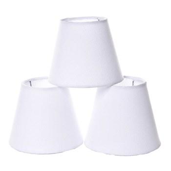 Jogo Cúpulas Para Lustre Branco (3 Unid.)