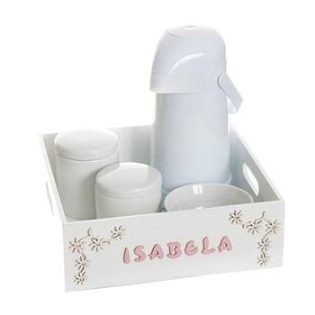 Kit Higiene Bandeja Lisa Com Nome