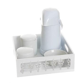 Kit Higiene Borboleta Transparente