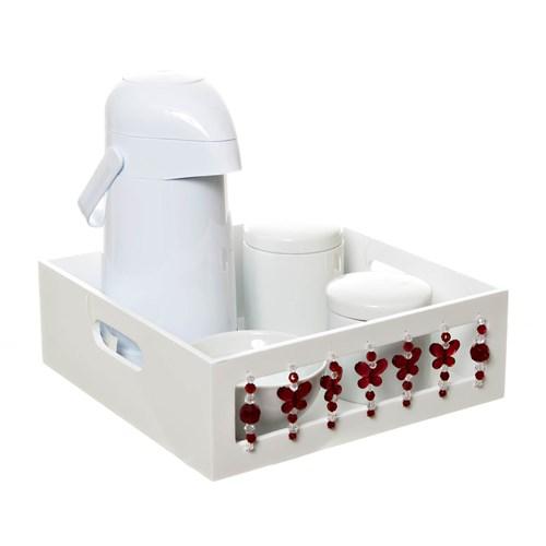 Kit Higiene Borboleta Vermelha