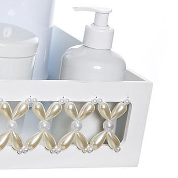 Kit Higiene Clássico Pérolas Com 6 Peças