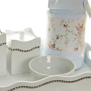 Kit Higiene Com Capa Fantasia Strass