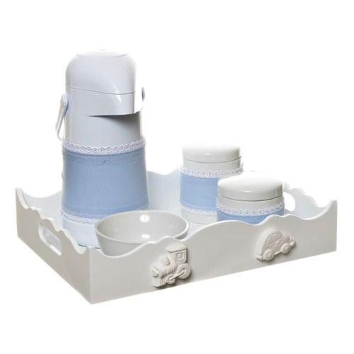 Kit Higiene Com Porcelanas E Capa Meios De Transporte