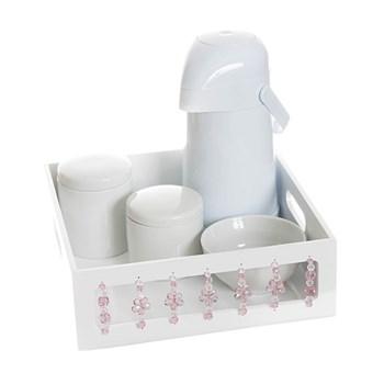 Kit Higiene Florzinha Rosa