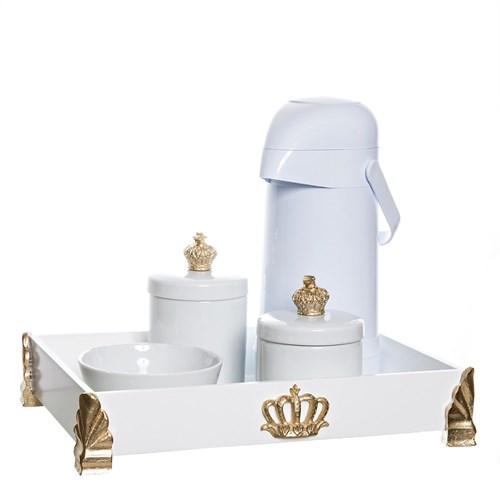 Kit Higiene Gold Com 5 Peças