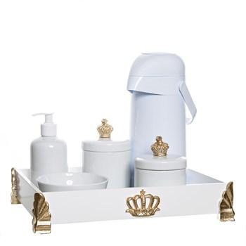 Kit Higiene Gold Com 6 Peças