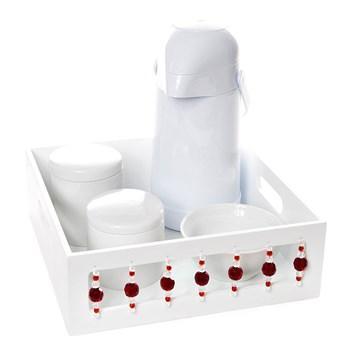 Kit Higiene Pedra Vermelha