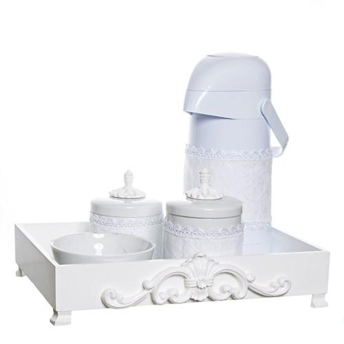 Kit Higiene Provence Com 5 Peças E Capa
