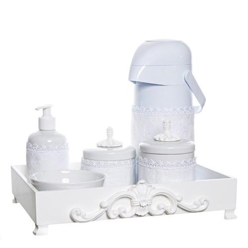 Kit Higiene Provence Com 6 Peças E Capa