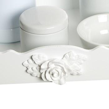 Kit Higiene Resina Rosa Grande