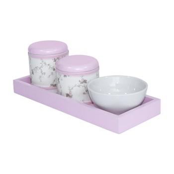 Kit Higiene Slim Rosa Capa Rosa Provençal