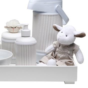 Kit Higiene Toys Claro Carneirinho Bege