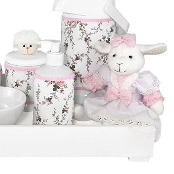 Kit Higiene Toys Claro Ovelha Rosa