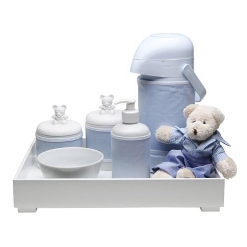 Kit Higiene Toys Claro Urso Azul