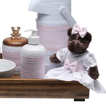 Kit Higiene Toys Escuro Ursa Rosa