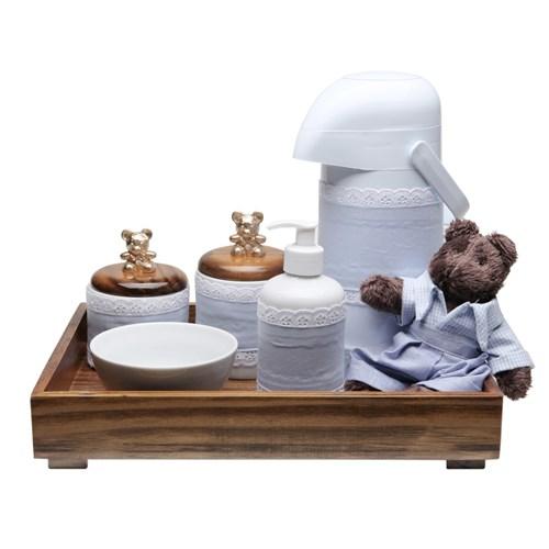 Kit Higiene Toys Escuro Urso Azul