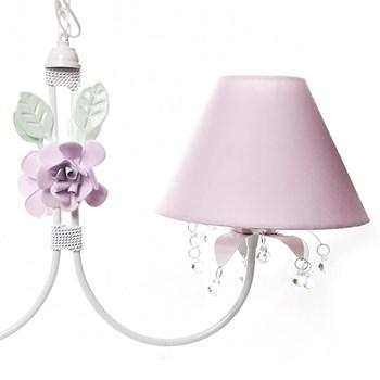 Lustre 2L Primavera Transparente 2 Flores G Rosa