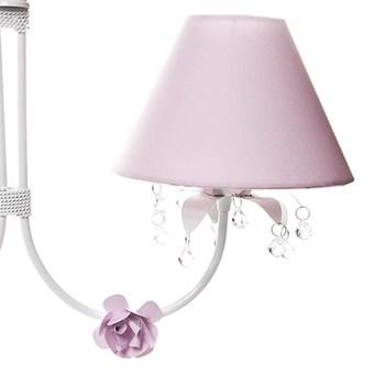 Lustre 2L Primavera Transparente 2 Flores P Rosa