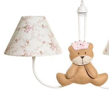 Lustre 2L Simples Com 2 Ursas Princesas