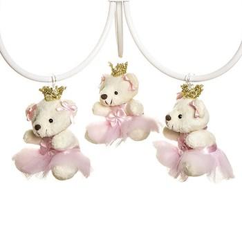 Lustre 3L Ariel Com 3 Ursinhas Princesas