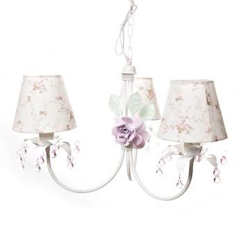 Lustre 3L Primavera Rosa 2 Flores G