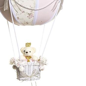 Lustre Balão Bolinha Ursinha Princesa