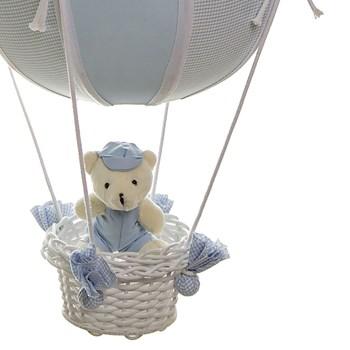 Lustre Balão Bolinha Urso Azul