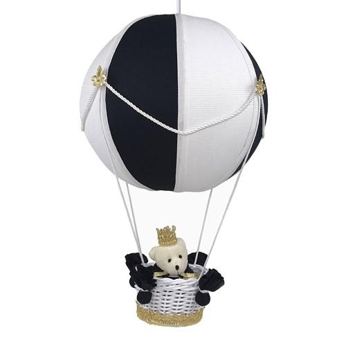 Lustre Balão Bolinha Urso Príncipe Marinho