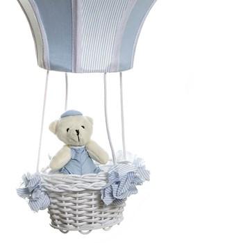 Lustre Balão Cintura Urso Azul